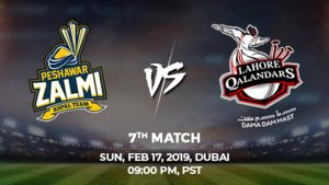 7th Match, Peshawar Zalmi vs Lahore Qalandars, Today Match Prediction
