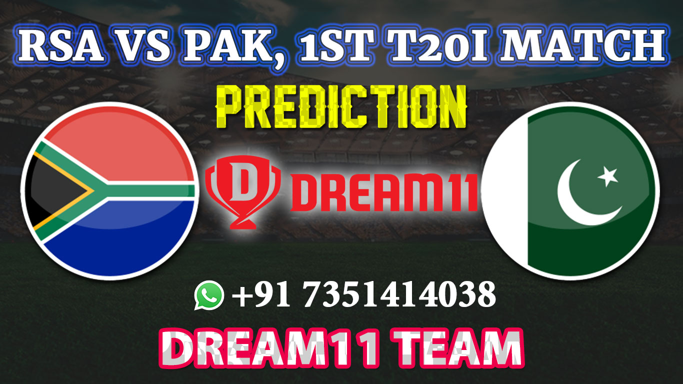 PAK vs SA 1st T20 Match Dream11 Fantasy Cricket team