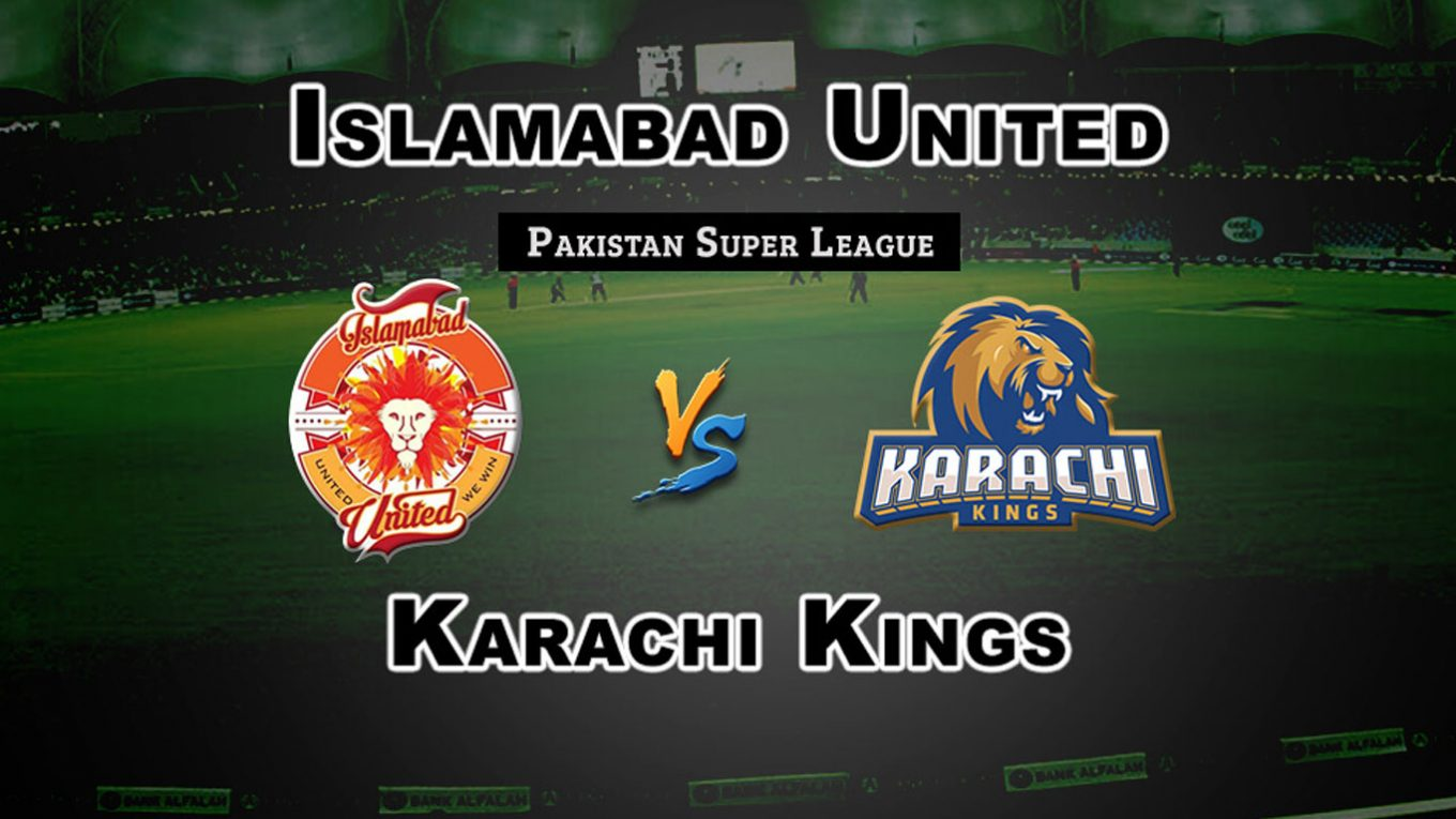 Eliminator Match, Islamabad United vs Karachi Kings, Today Match Prediction