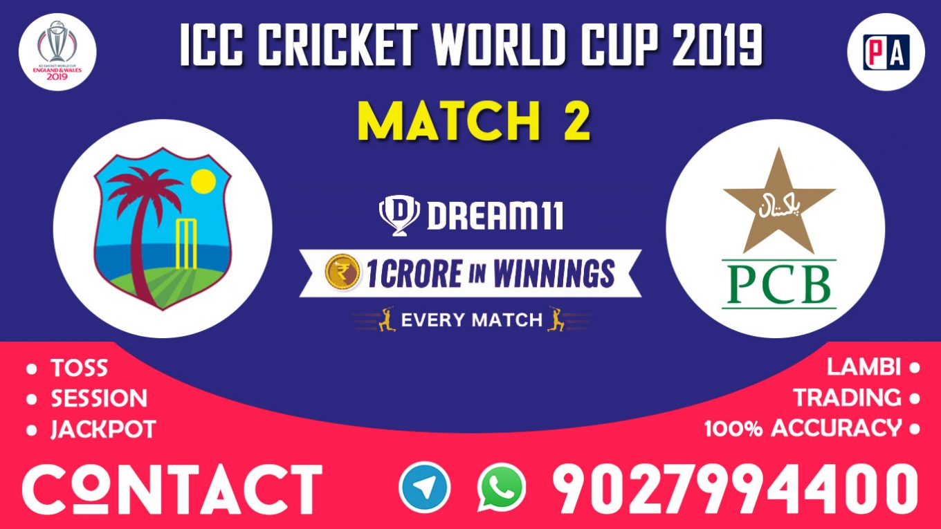 Match 2nd, WI vs PAK, Dream11 Team Prediction