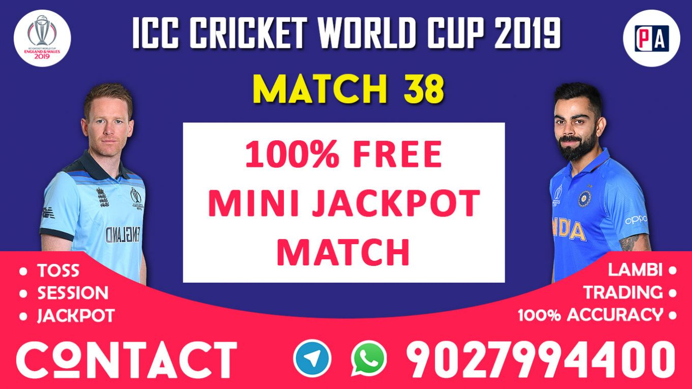 Match 38th, ENG vs IND, Today Match Prediction