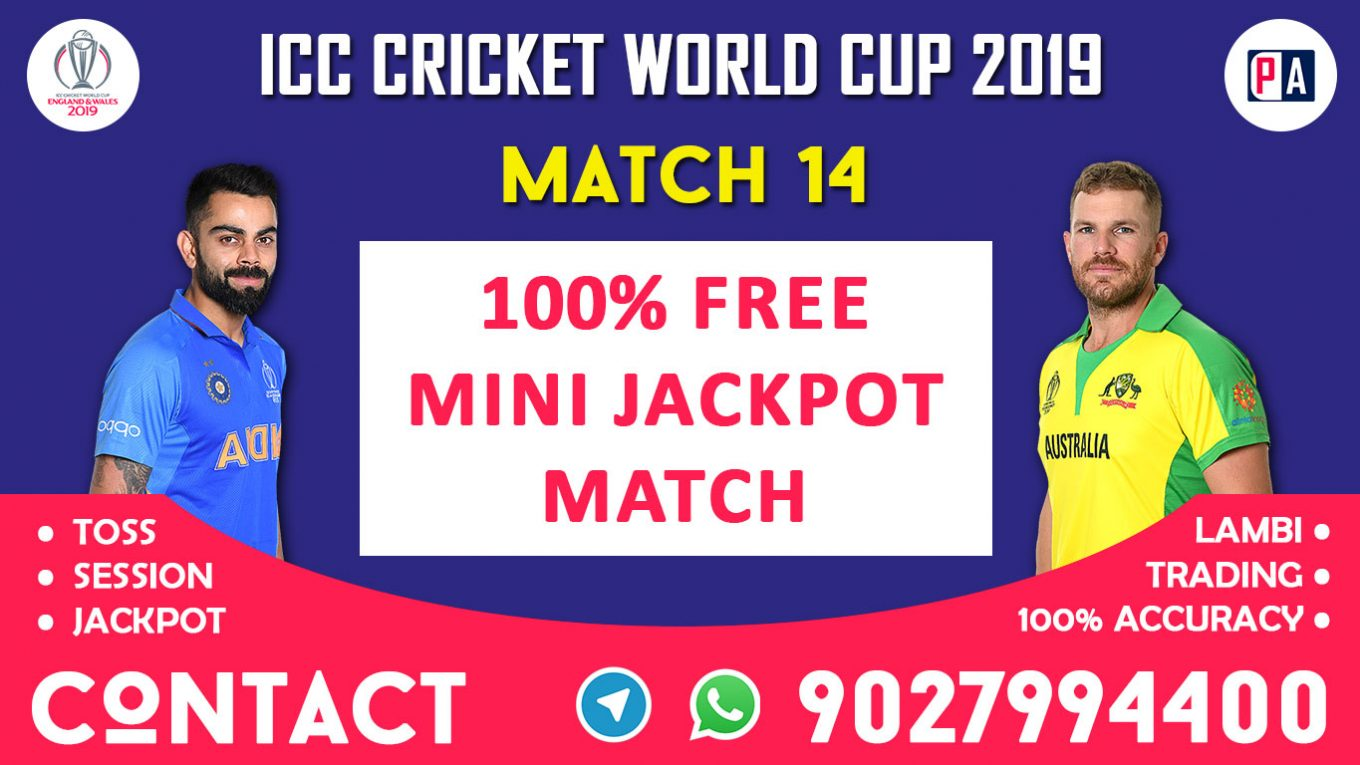 Match 14th, IND vs AUS, Today Match Prediction