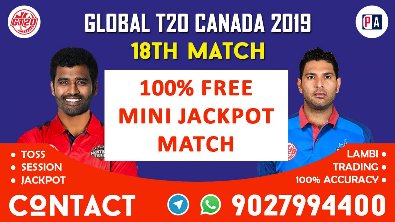 18th Match, MON vs TOR, Today Match Prediction