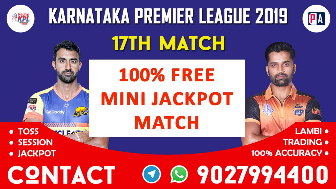 17th Match, MW vs HT, Today Match Prediction