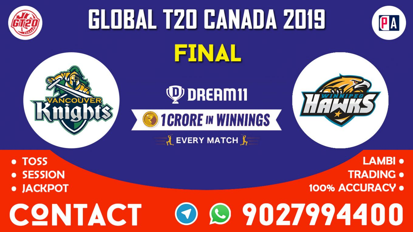 Final, VCK vs WPH, Dream11 Team Prediction