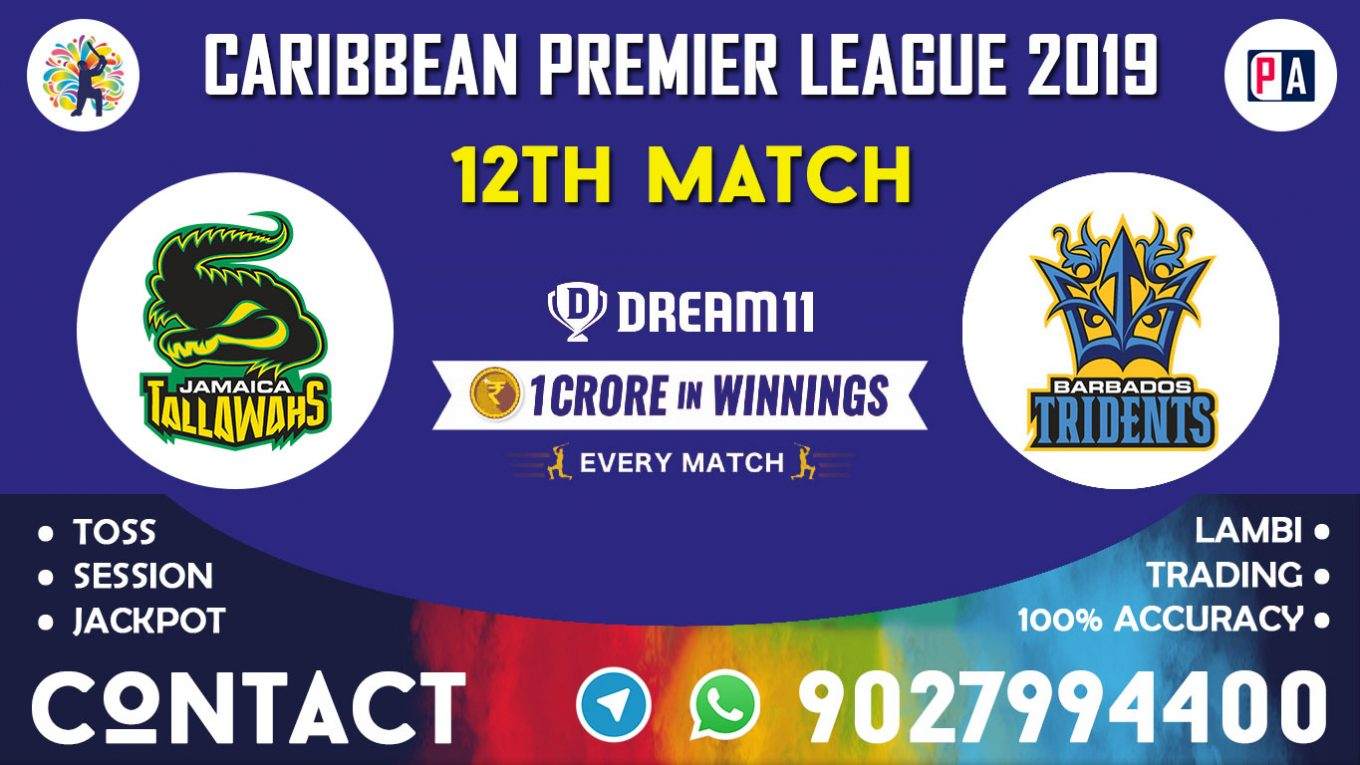 12th Match, JT vs BT, Dream11 Team Prediction