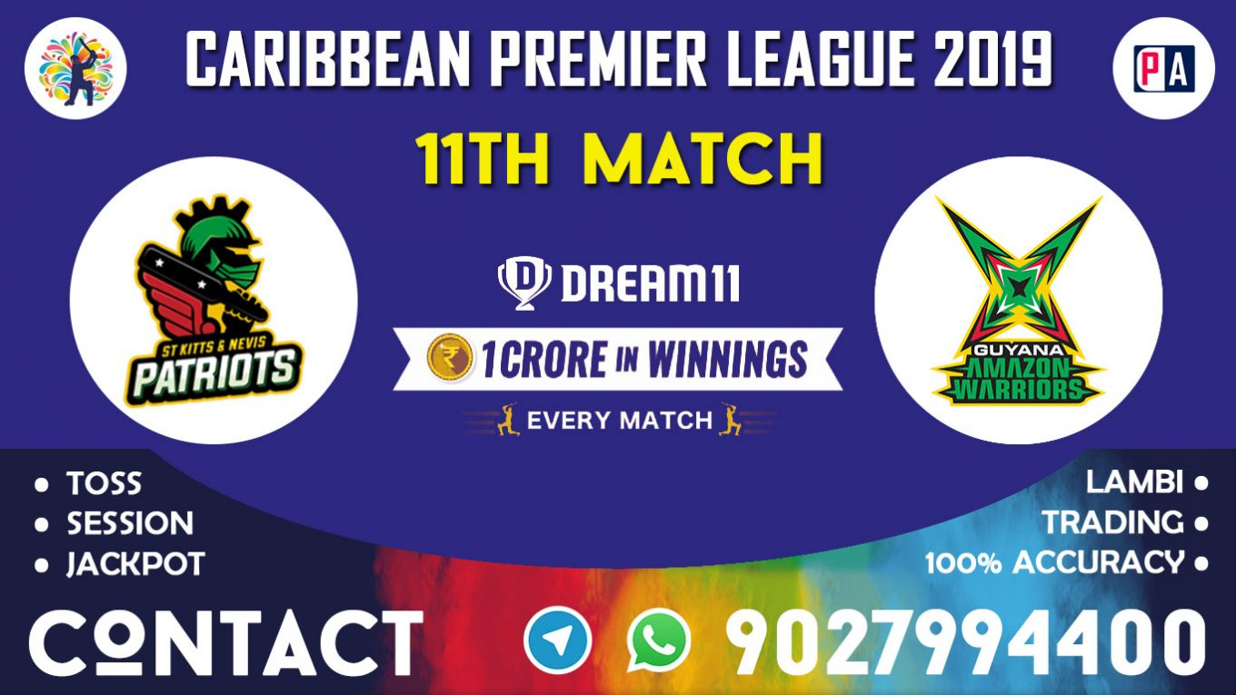 11th Match, SNP vs GAW, Dream11 Team Prediction