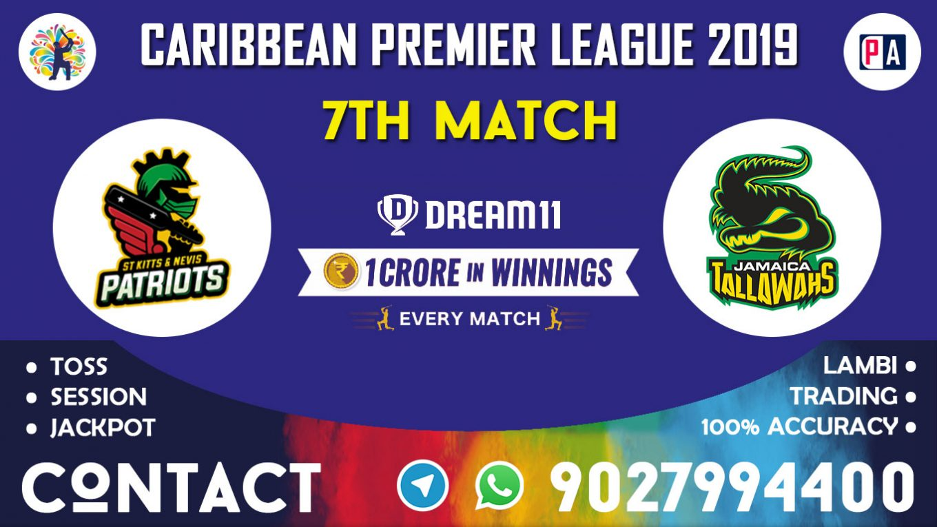 7th Match, SNP vs JT, Dream11 Team Prediction