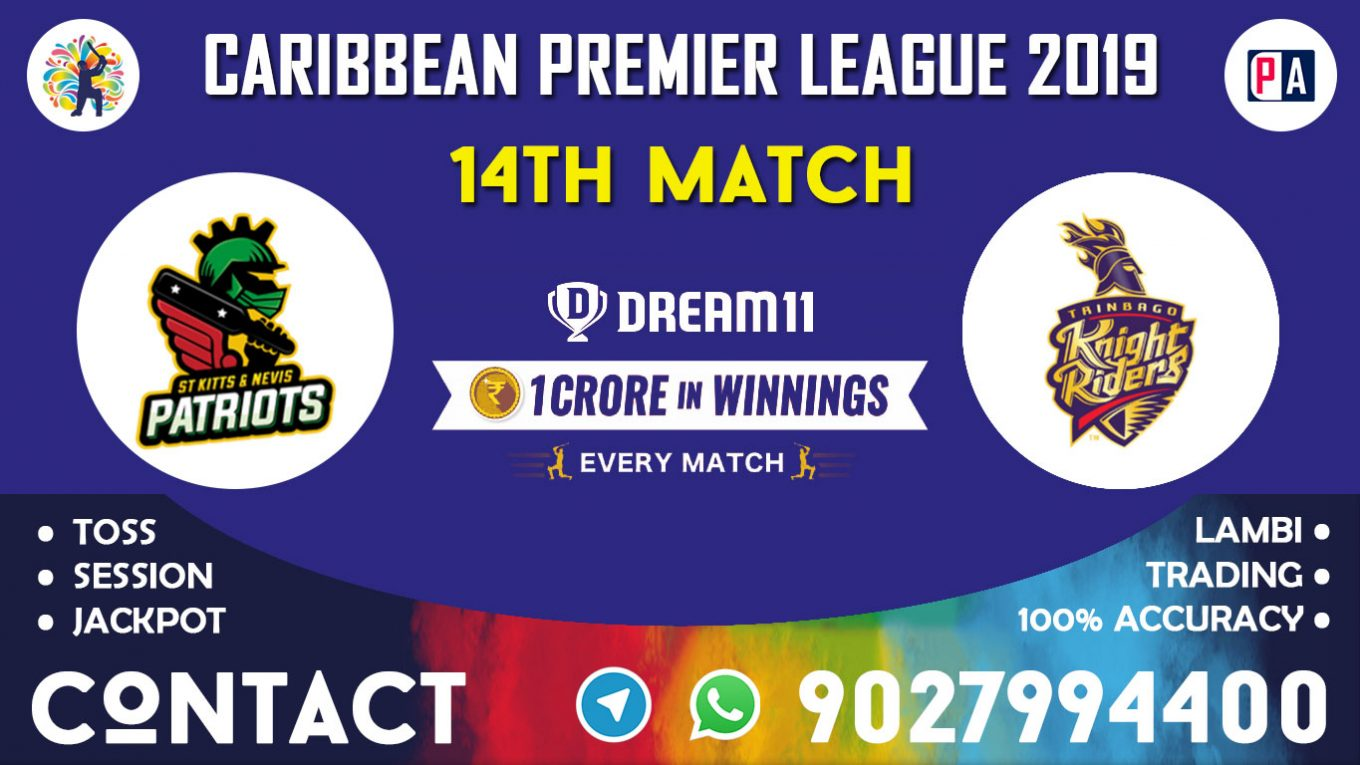 14th Match, SNP vs TKR, Dream11 Team Prediction