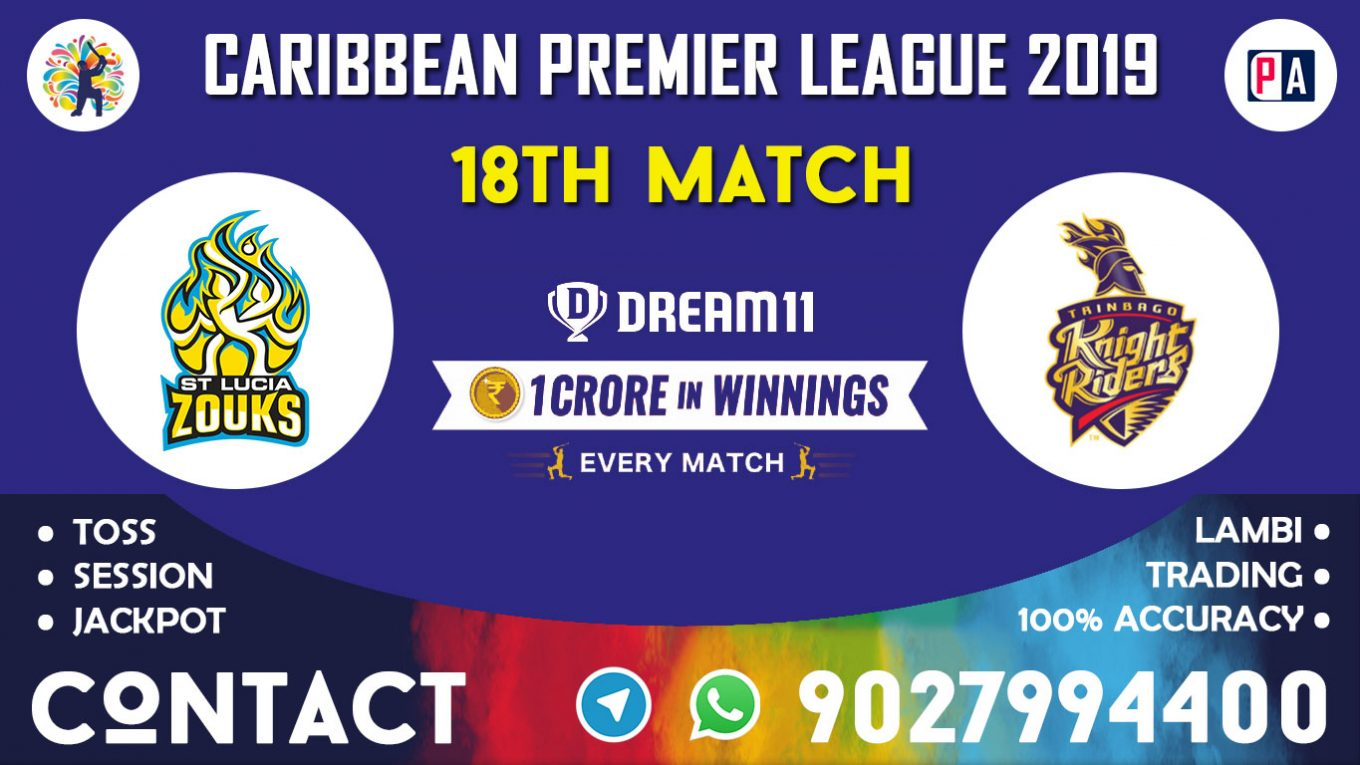 18th Match, STZ vs TKR, Dream11 Team Prediction
