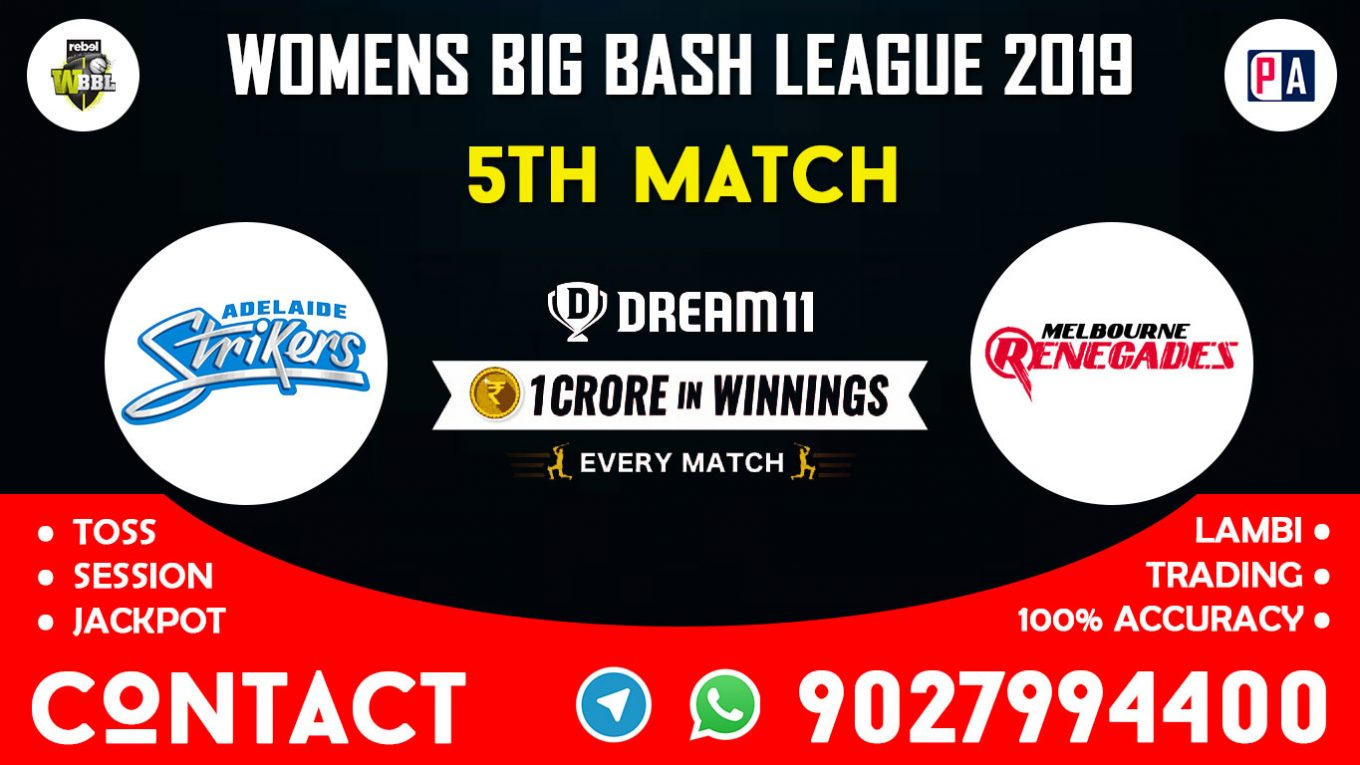 5th Match, ADSW vs MLRW, Dream11 Team Prediction