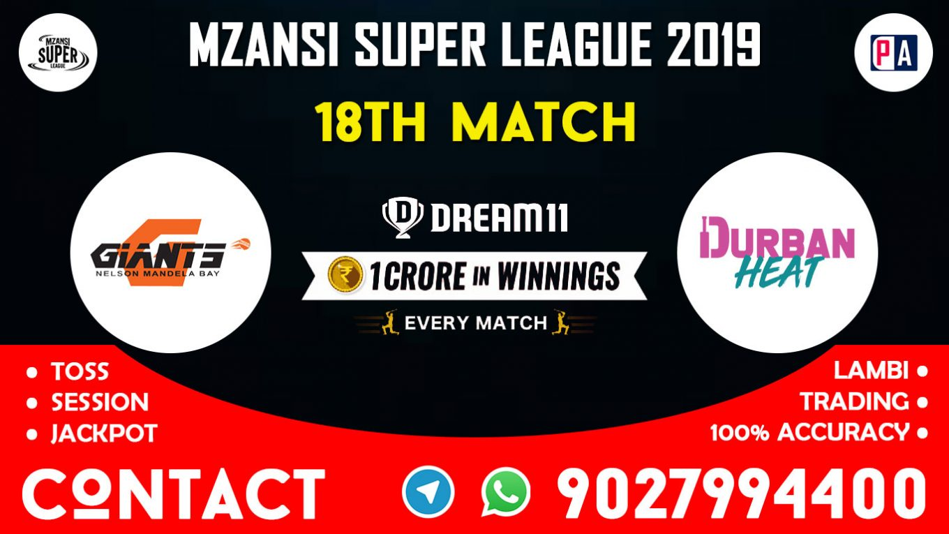 18th Match CTB vs DH, Dream11 Team Prediction