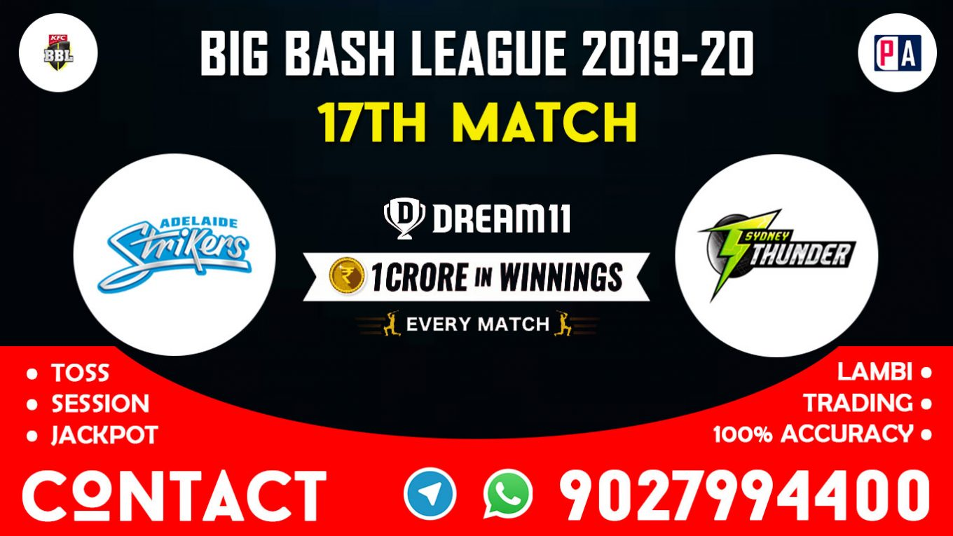 17th Match ADS vs SYT Dream11 Team Prediction