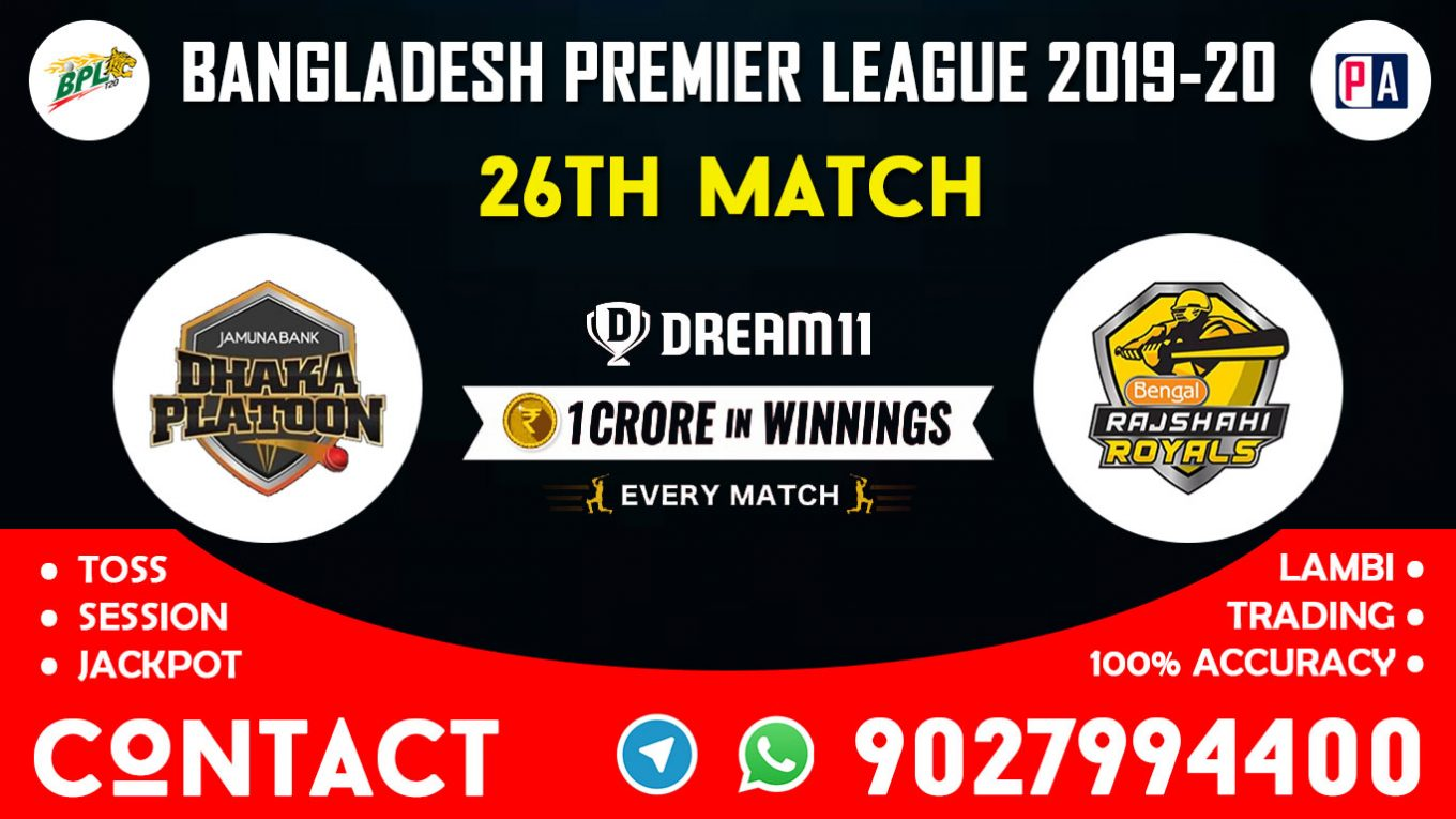 26th Match DP vs RSR, Dream11 Team Prediction