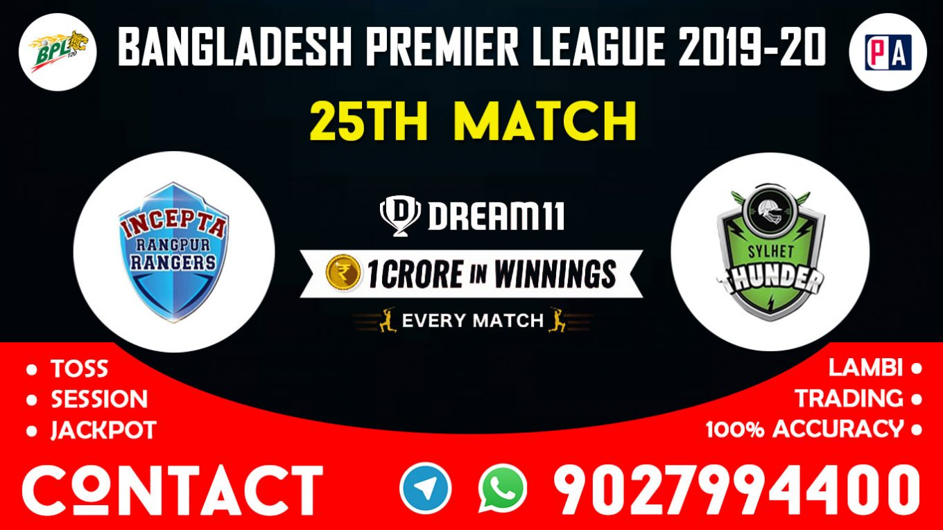 25th Match RPR vs SLT, Dream11 Team Prediction
