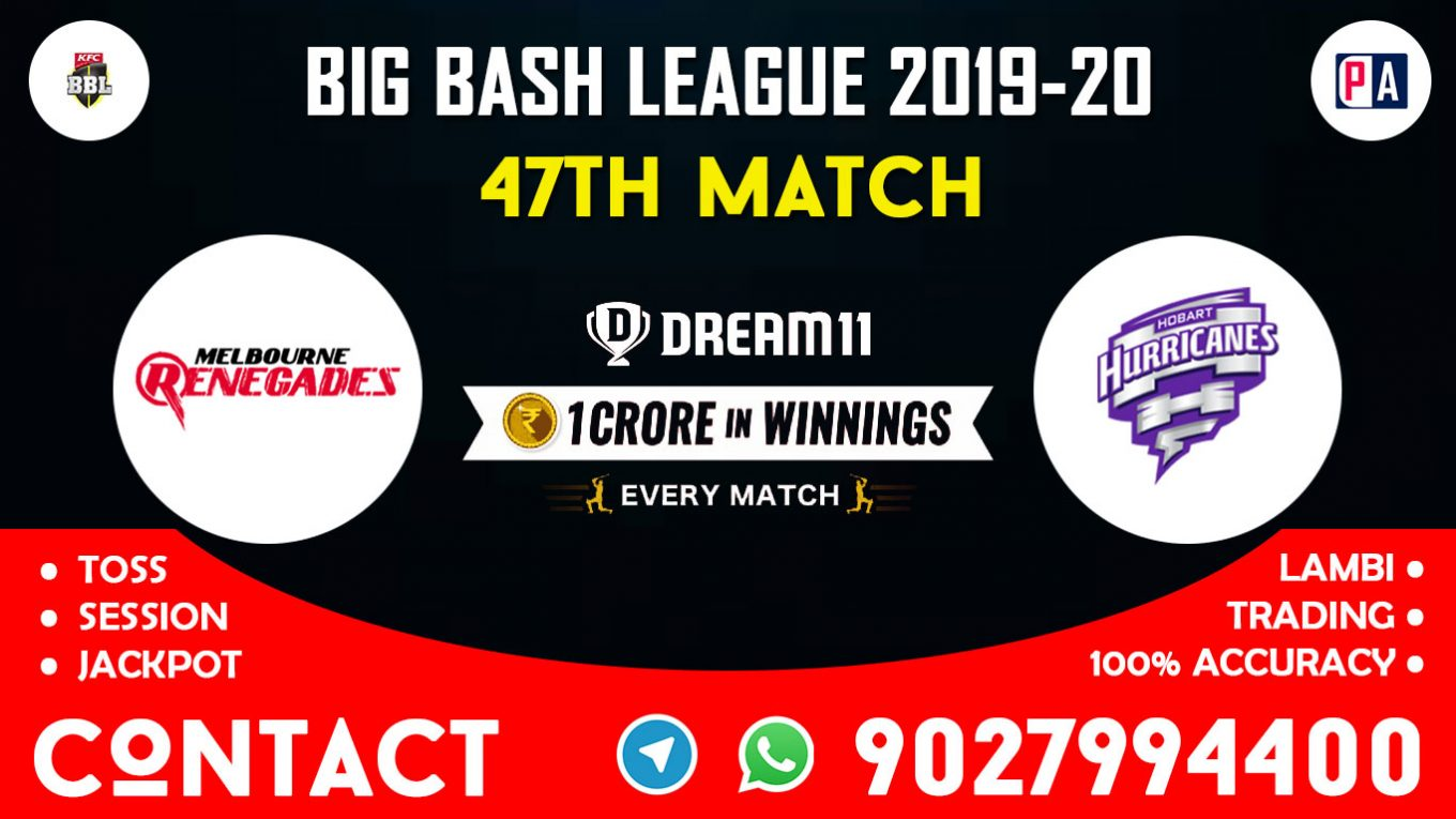 47th Match, REN vs HUR, Dream11 Team Prediction