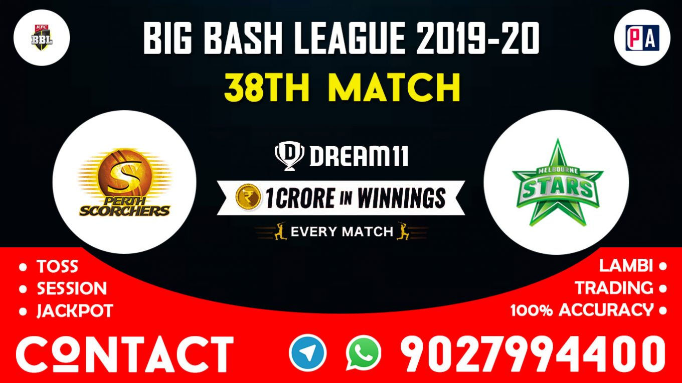 38th Match, SCO vs STA, Dream11 Team Prediction