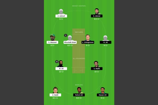 MUL vs PES dream11 team