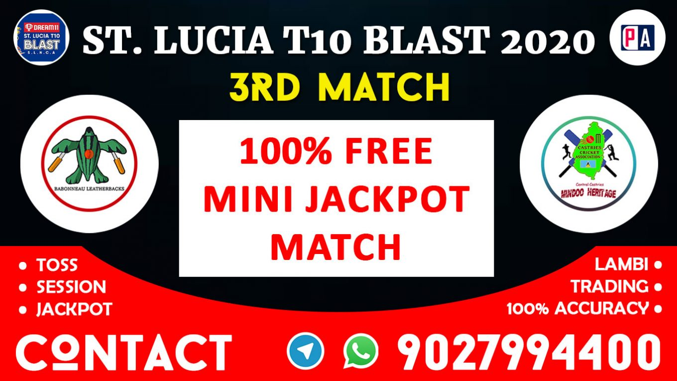 3rd Match, BLS vs CCMH, Today Match Prediction